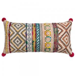 Sophia Hand Woven Lumbar Pillow