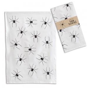 Spider Tea Towel - Box of 4