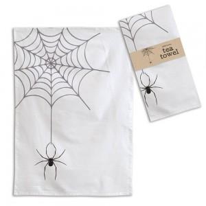 Spider Web Tea Towel - Box of 4