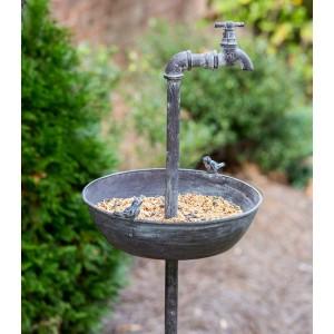 Spigot Bird Feeder Garden Stake