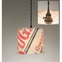 Stagecoach Sugar Canvas Pendant Light