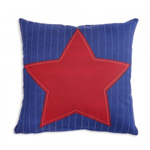 Star Cotton Throw Pillow