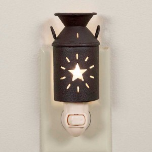 Star Milk Can Night Light