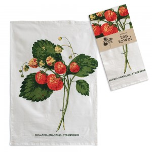 Strawberries Tea Towel - Box of 4