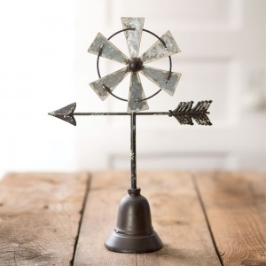 Table Top Windmill with Arrow