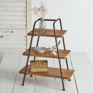 Tabletop A-Frame Shelves