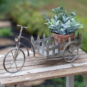 Tabletop Trike Flower Cart