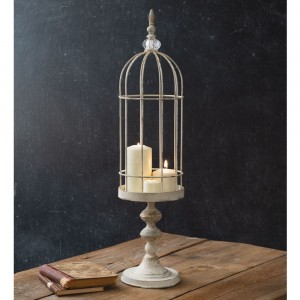 Tall Wire Cloche with Stand