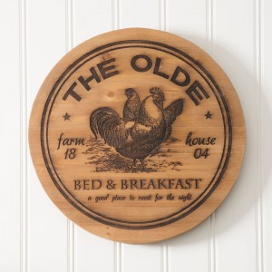 """""""The Olde"""" Wood Lazy Susan"""
