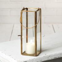 Thin Hayworth Lantern - Antique Brass