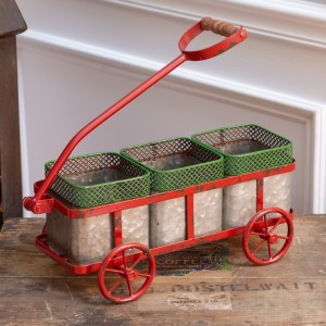 Three-Bin Wagon