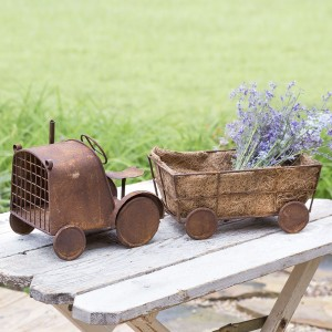 Tractor Harvest Planter