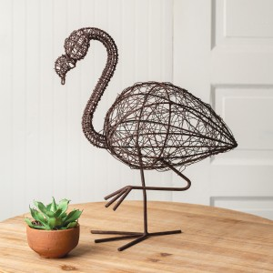 Twisted Wire Flamingo