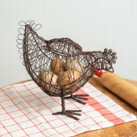 Twisted Wire Hen Basket