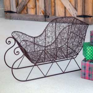 Twisted Wire Sleigh