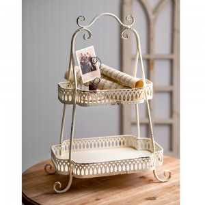 Two-Tier Chantilly Tray