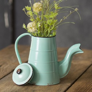Vintage-Inspired Coffee Pot