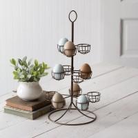 Vintage-Inspired Nickel Egg Tree