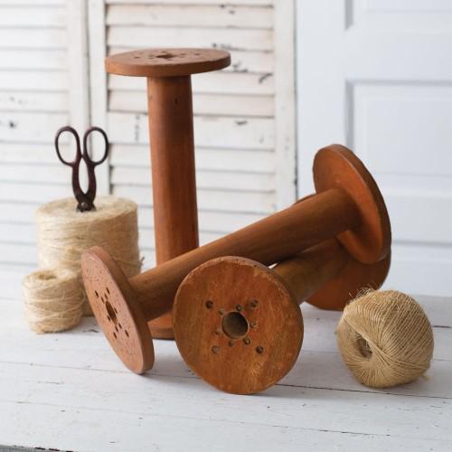 Vintage-Inspired Wood Spool