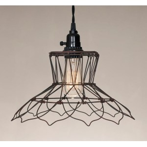 Vintage Wire Pendant Light