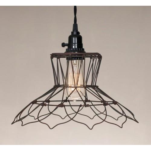 Vintage Wire Pendant Light