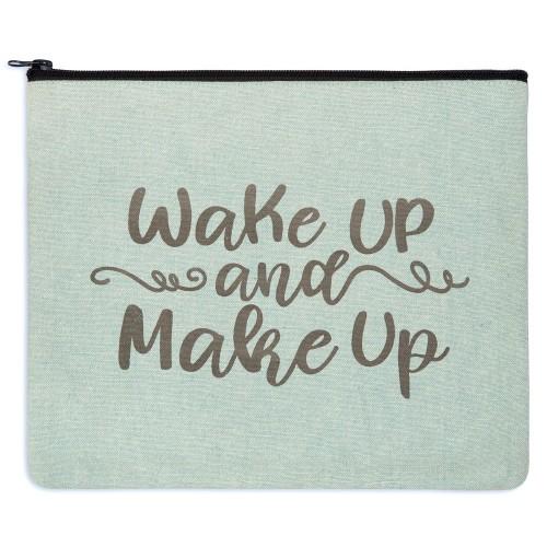 Wake Up and Make Up Travel Bag