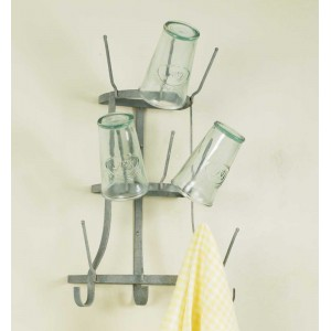 Wall Mount Wine Bottle Tree