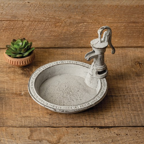 Water Pump Soap Dish