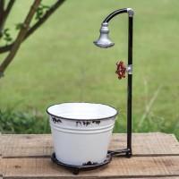 Water Spigot with Bucket