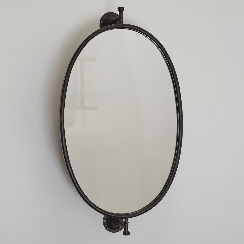 Wall Mounted Swivel Bathroom Mirror, Swivel Bathroom Mirror