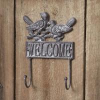 Welcome Bird Wall Hook