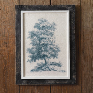 White Oak Vintage Tree Wall Art