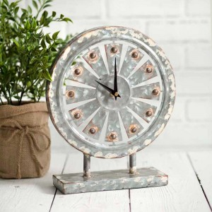 Windmill Tabletop Clock