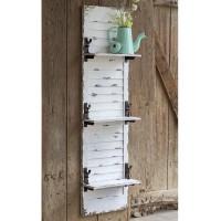 Window Shutter Hanging Wall Shelf