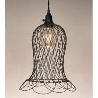 Wire Bell Pendant Light