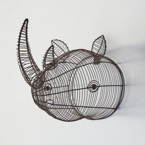 Wire Rhino Wall Mount Head