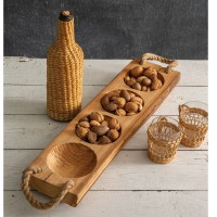 Wood Runner Tray