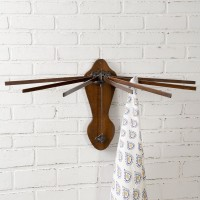 Wooden Wall Mounted Drying Rack