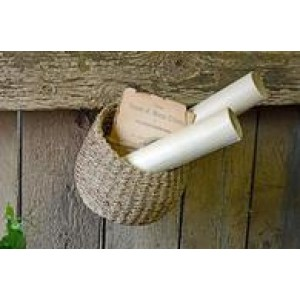 Woven Round Wall Basket