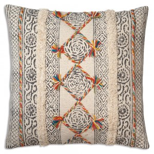 Yasmin Hand Woven Throw Pillow