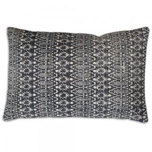 Zara Block Print Lumbar Pillow